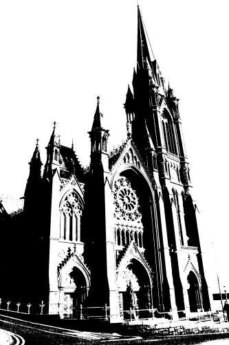 Cobh Cathedral Sketch