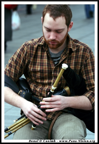Busking Piper